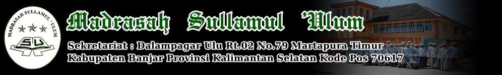 Madrasah Sullamul 'Ulum