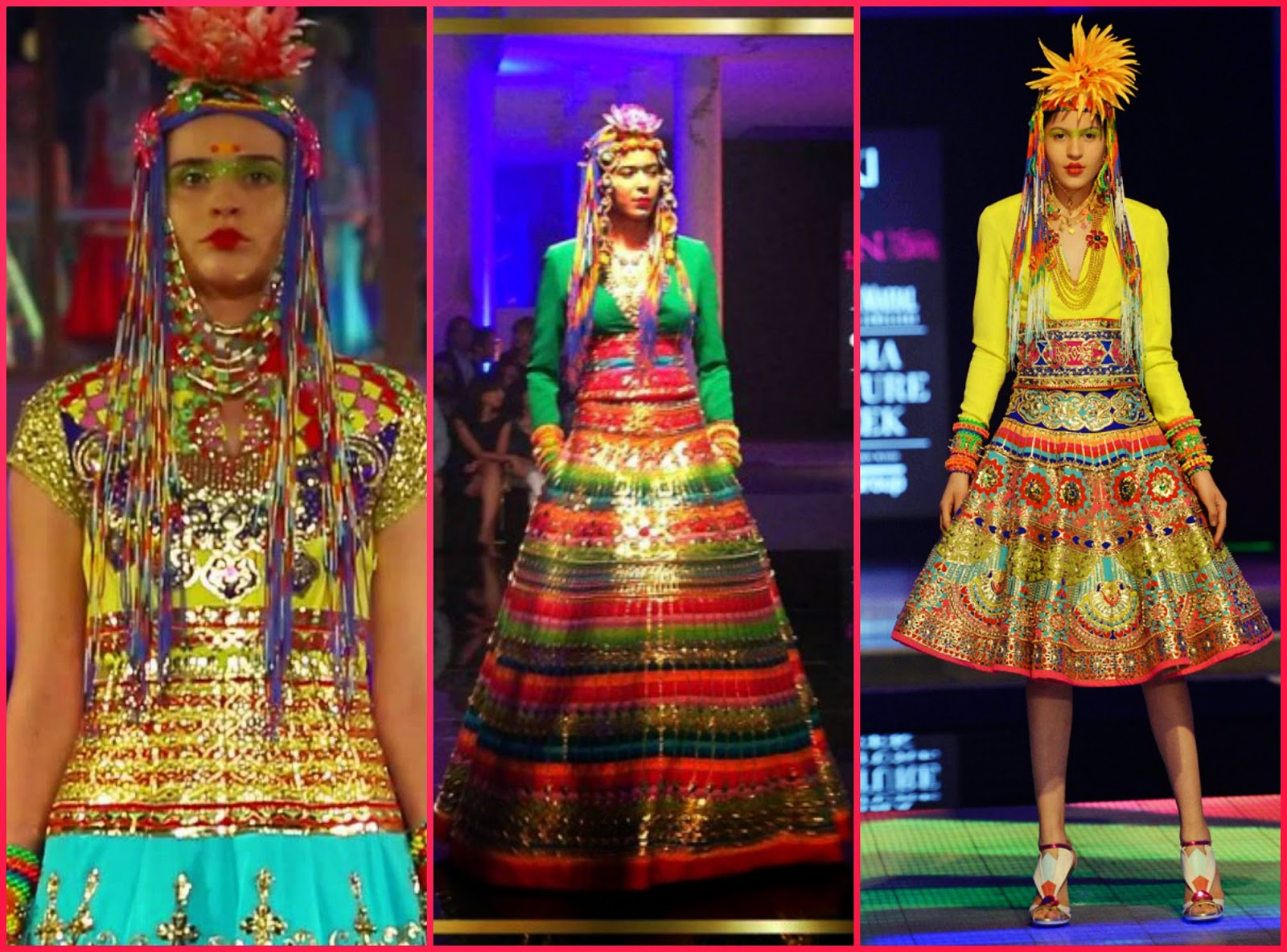 Manish arora indian couture week 2014