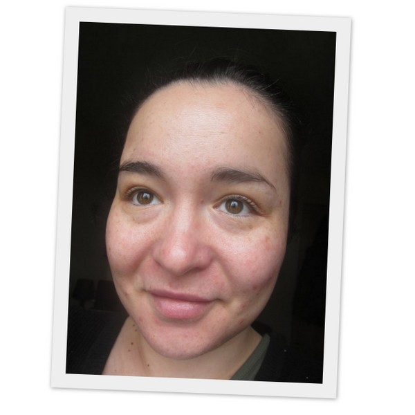 Clarins Skin Perfecting BB Cream - Before Photo