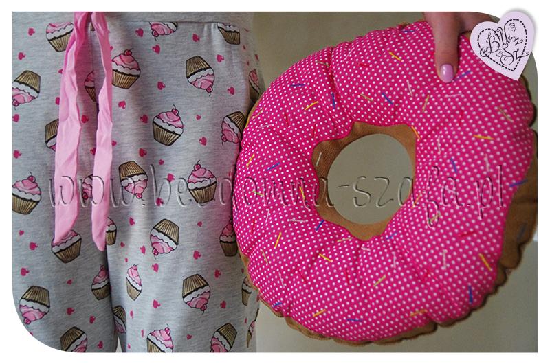 Piżama muffin, donut pillow