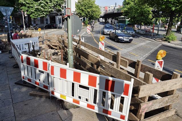 Baustelle Schlesisches Tor, Skalitzer Straße 74, 10997 Berlin, 19.06.2013