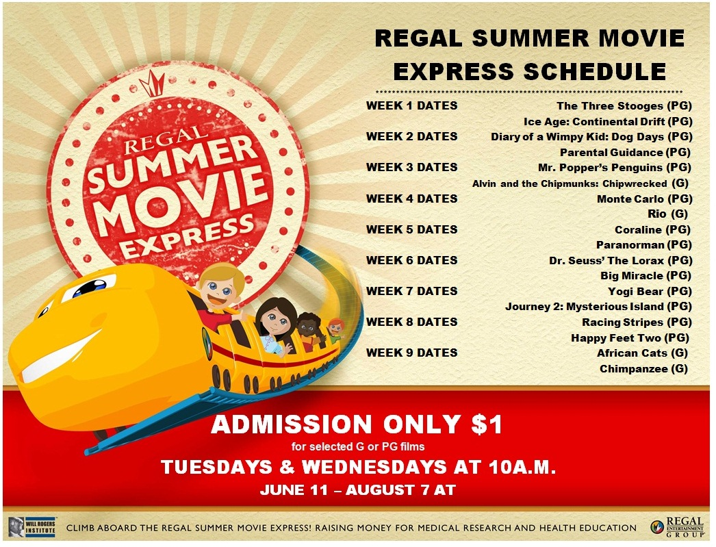 Dollar Summer Movie Express