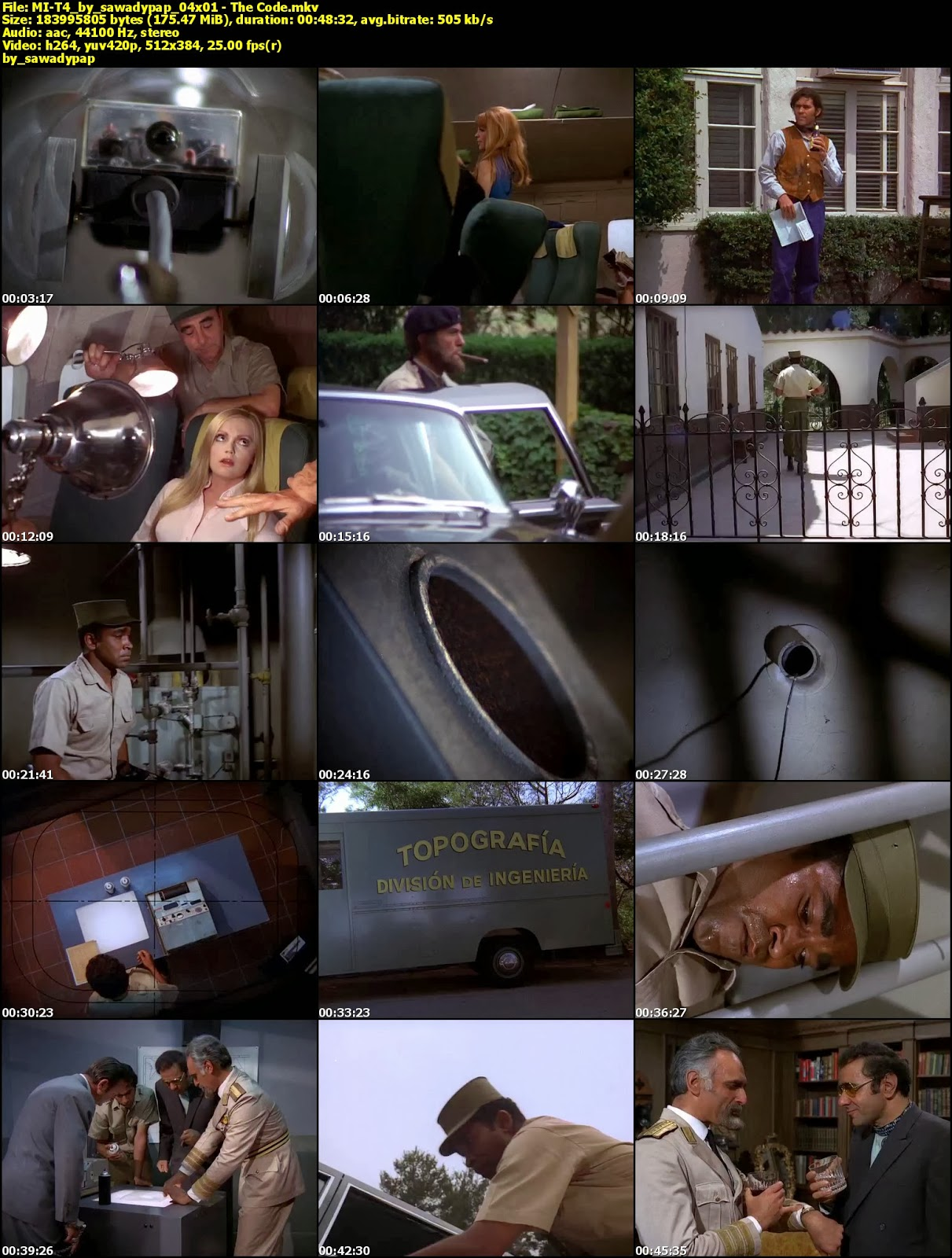 [Serie] Misión Imposible [1966-1973] [DVDRip] [Subtitulada]