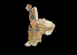 Egypte : Découverte d'un léopard peint sur un sarcophage à Assouan