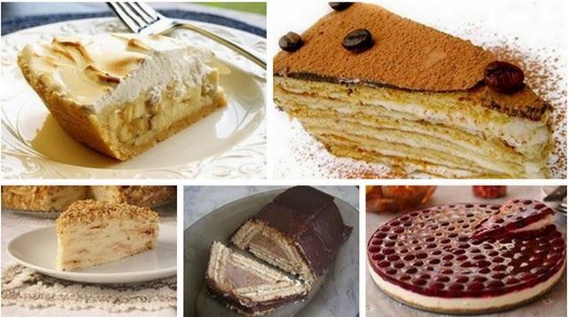 Торты из печенья - 5 лучших рецепта