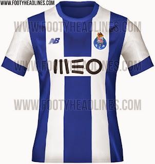 bocoran jersey Fc Porto home terbaru musim depan 2015/2016
