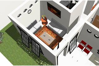 Gambar desain rumah tamu teras