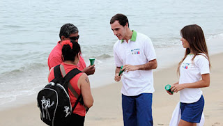 reciclaje playas
