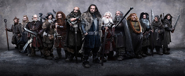 the hobbit nains dwarves