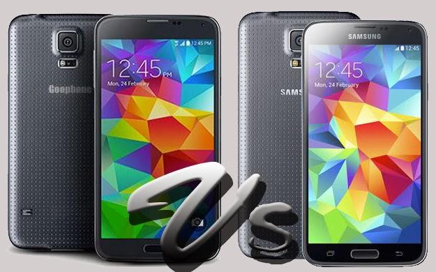 Goophone S5, Hp Tiruan Samsung Galaxy S5 Harga Murah
