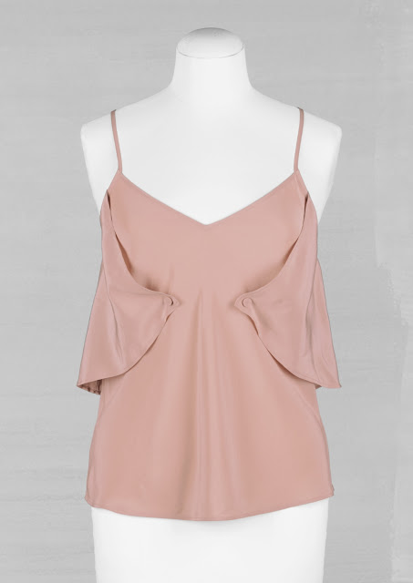 & other Stories silk camisole top