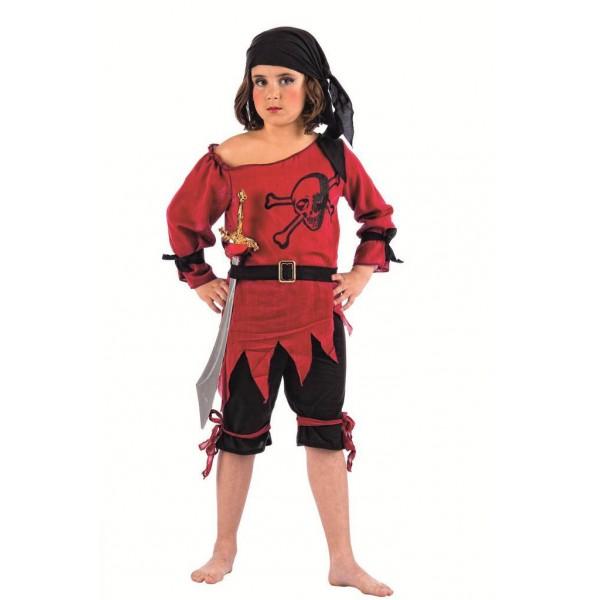 Disfraz de pirata casero para niña - Imagui