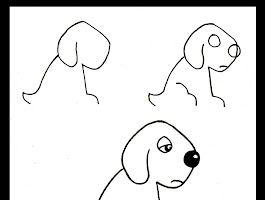 How To Draw Animated Dogs Step By Step