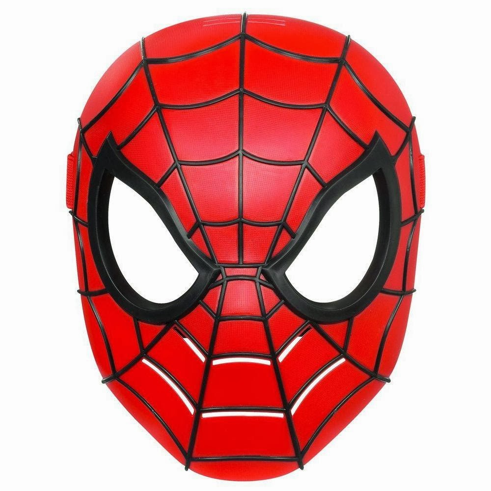 It is a photo of Nerdy Spiderman Mask Printable