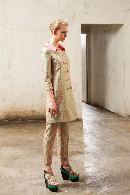 Antonio Marras Green Lookbook. Resort 2013