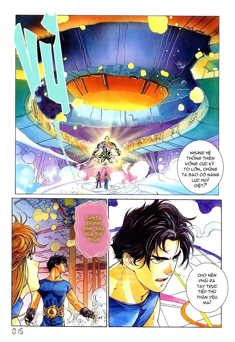 Cyber Weapon Z - Siêu Thần Z chap 3 - Trang 9