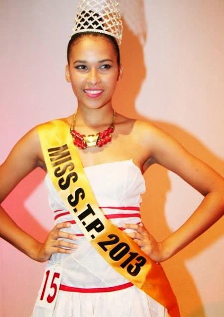 Miss Sao Tome e Principe 2013 Djeissica Barbosa Hamilton Ivna Farinha Cassandra