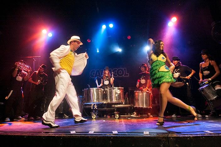 Batucada y Bailarines Brasileños en Madrid