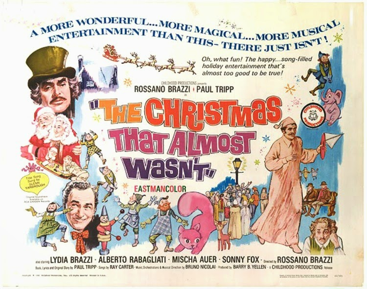 A Vintage Nerd, Vintage Blog, Classic Film Blog, Old Hollywood Blog, Classic Christmas Films, The Christmas That Almost Wasn't