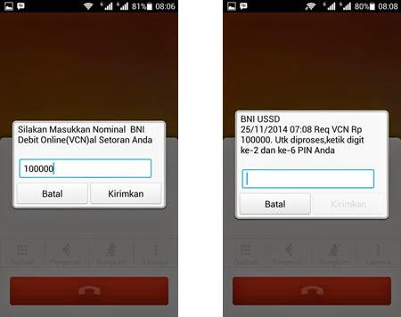 Cara Request Nomor VCN BNI Melalui *141#