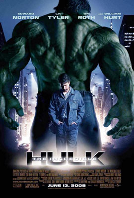 Graphic Design: The Incredible Hulk Minimalist Movie Poster