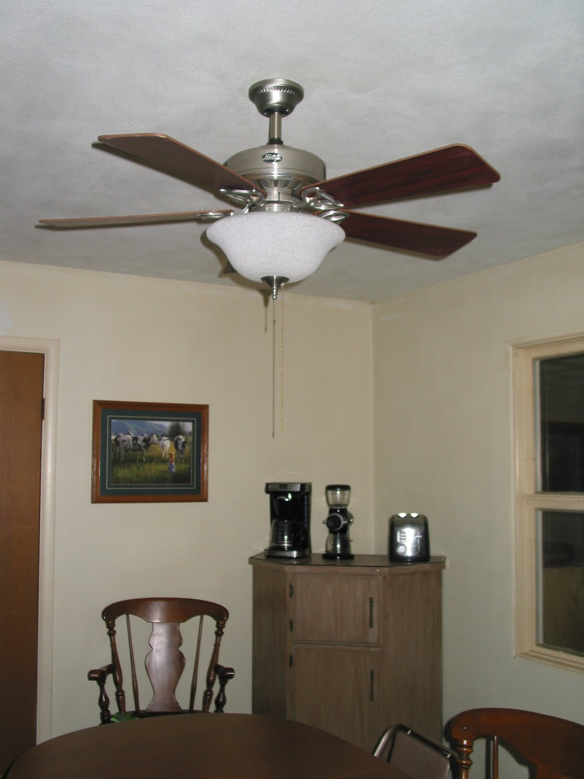 Light at Home Home Makeover New Ceiling Fan