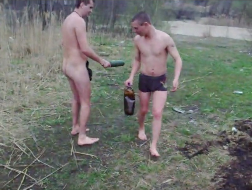 drunk russian boys naked