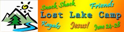 LOST LAKE CAMP June 24-28 2019