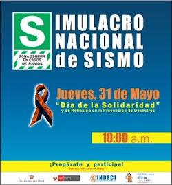 SIMULACRO NACIONAL DE SISMO