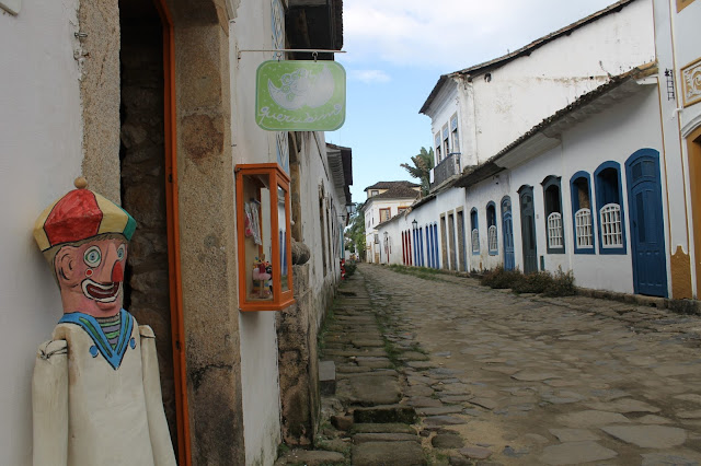 Paraty, Centro histórico, Rio