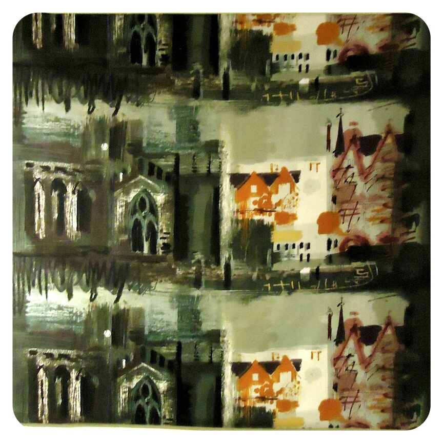 Northern Cathedral screenprint by John Piper