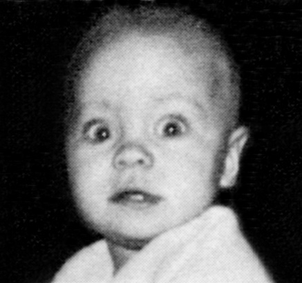 baby pictures of famous people pamela anderson
