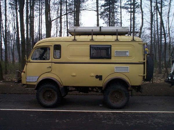 Célèbre Le camping-car Passe partout: Camping-car : Renault Goélette et  LU67