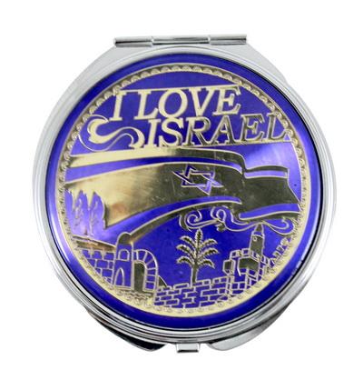 Espejo I Love Israel 8 x 7 ctms.