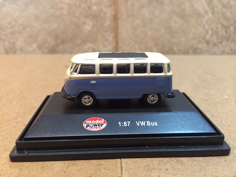 VW Micro Bus, 1:87th Scale ~
