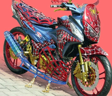 Foto Modifikasi Motor CS1