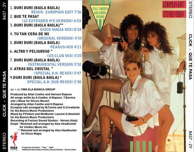 Click - Que Te Pasa (LP)