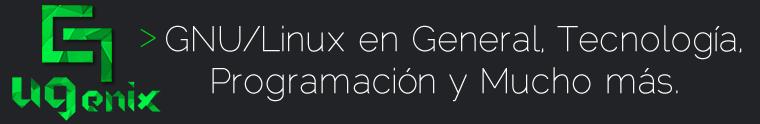 UGenix | Ubuntu, GNU/Linux en General