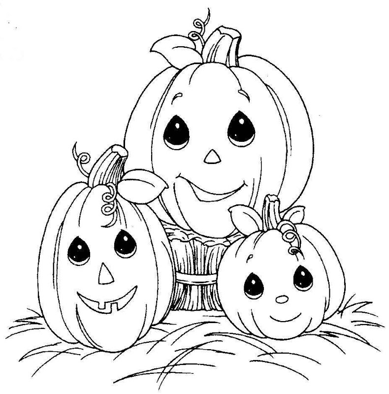coloring sheets of pumpkins for you to print and color this halloween title=