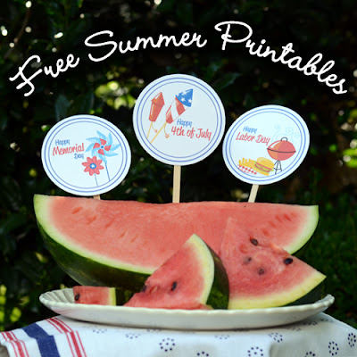 Summer Printable Files for Free