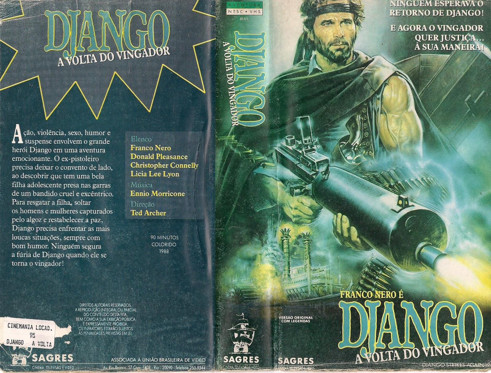 filmes para doidos django a volta do vingador 1987