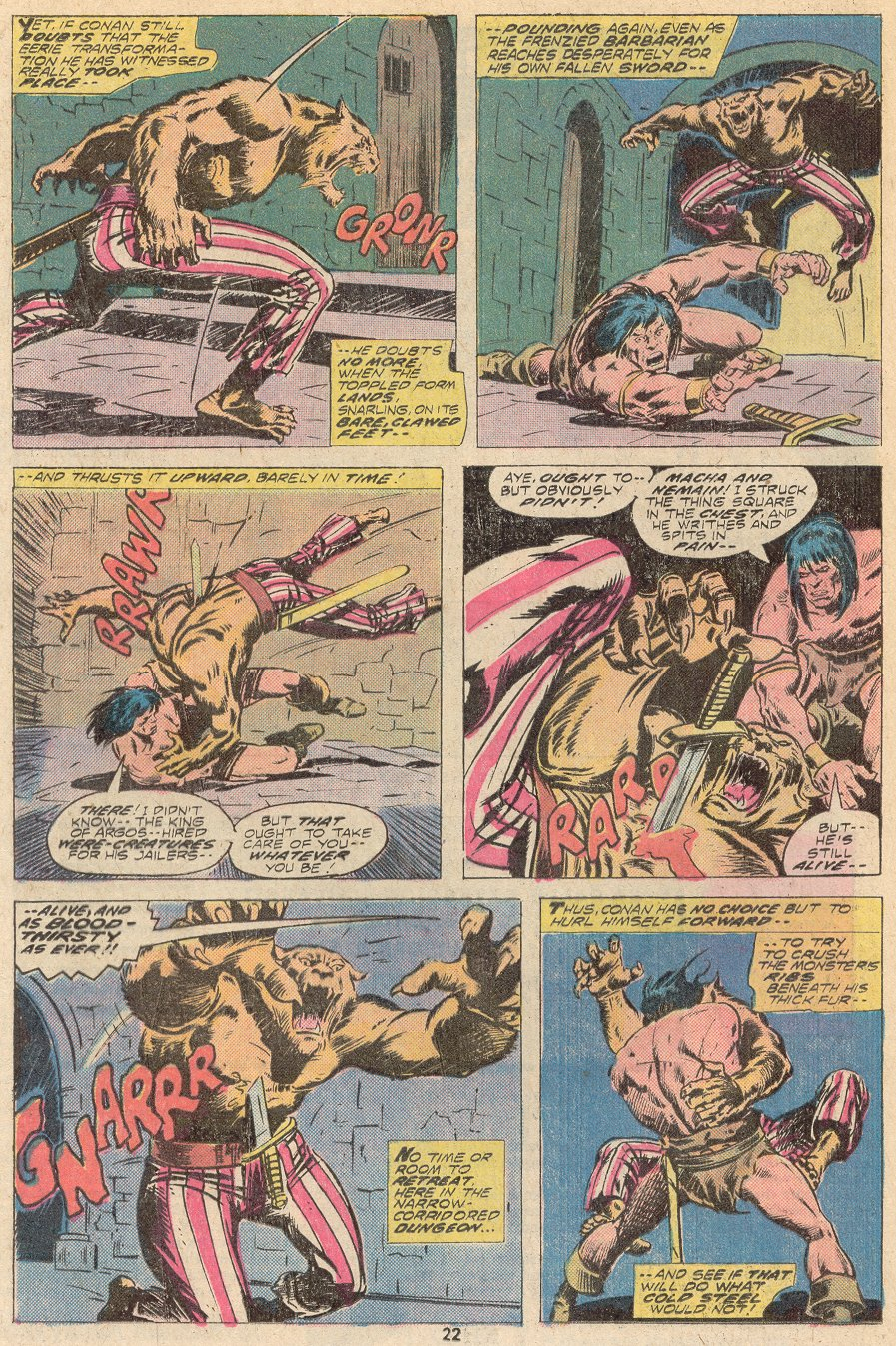 Conan the Barbarian (1970) Issue #67 #79 - English 14
