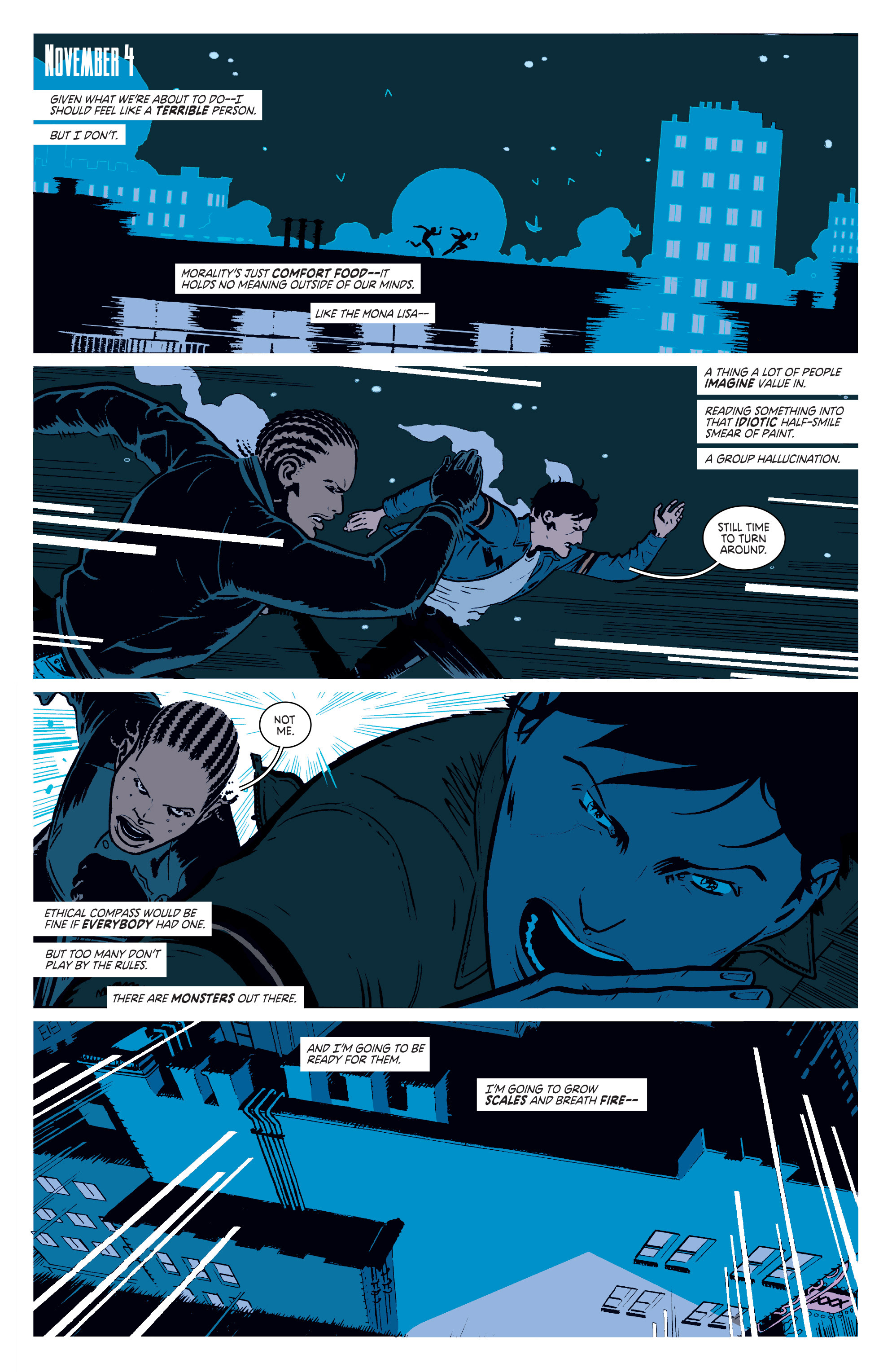 Read online Deadly Class comic -  Issue #3 - 3
