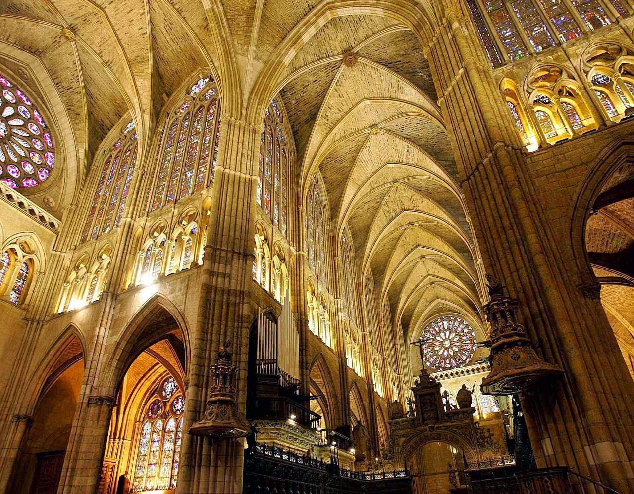 Catedral de León, nave central