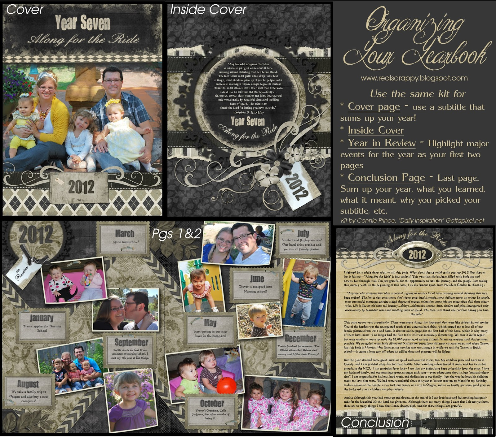 Real Scrappy Digital Scrapbooking From Start To Finish Organizing