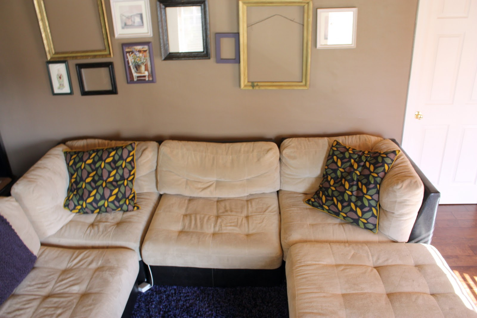The Couch Isnt New. We Bought That Two Summers Ago From Mor Furniture. It  Was The Display Model And We Did Get A Good Deal On It And It Is Extremely  Comfy, ...