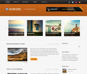 BoardZine WordPress Theme
