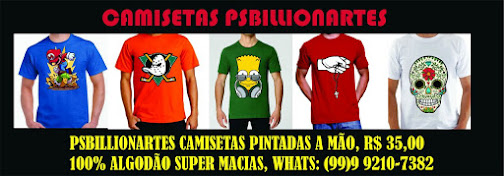 CAMISETAS PSBILLIONARTES