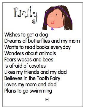Joyful learning in kc bio poems