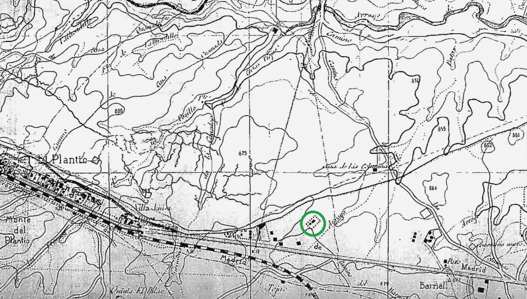 Frente de batalla 138 front n de aravaca casa roja - Plano de aravaca ...